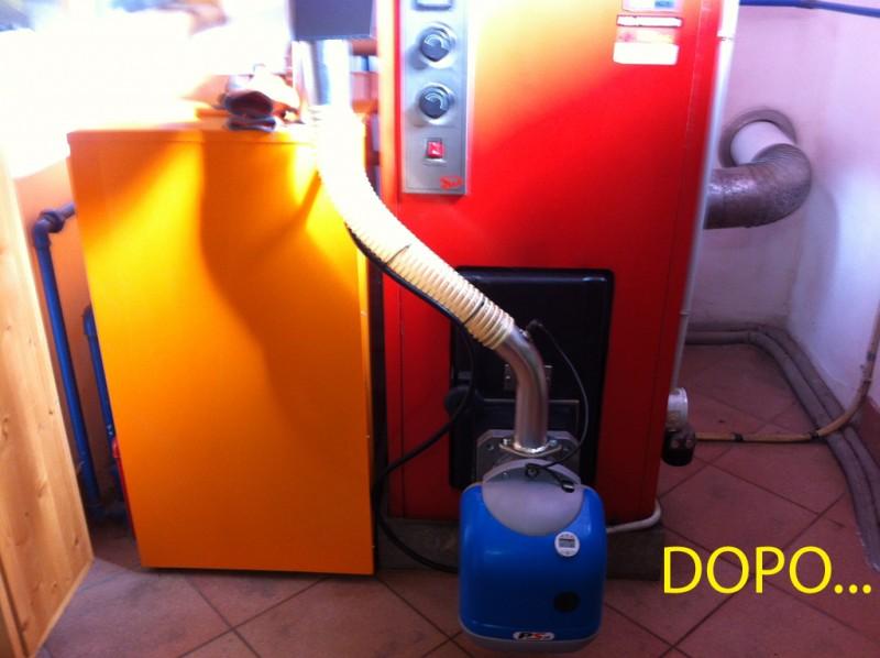 Bruciatore Di Pellet Per Conversione Caldaie Da Gasolio A Pellet