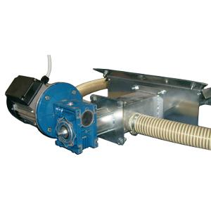 Unità estrazione pellet per sistema con aspiratore - tubi DN50