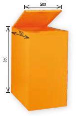serbatoio ferroli 140 kg