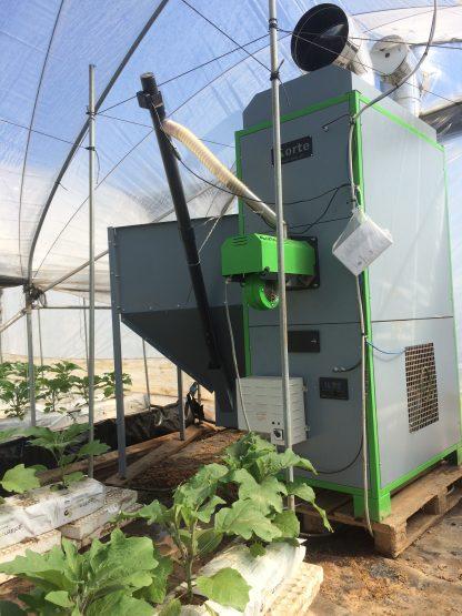 generatore aria calda a pellet 130kw