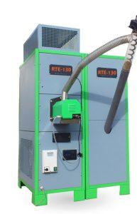 Generatori d'aria calda a pellet per serre
