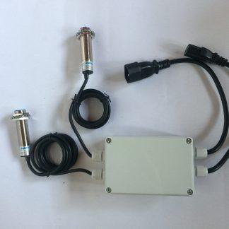 centralina per rilevamento pellet a 2 sensori