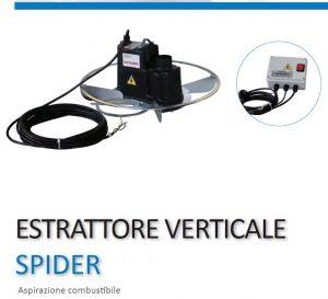 estrattore verticale SPIDER-RAGNO