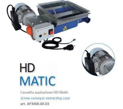 cassetta aspirazione HD Matic