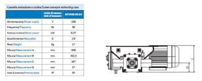 cassetta aspirazione HD Matic misure